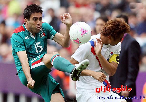 گزارش تصویری المپیک ۲۰۱۲ ( فوتبال )