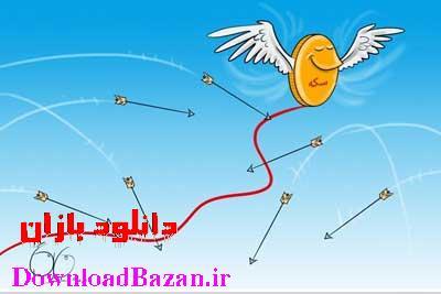 کاریکاتور جديد مفهومي از افزایش قیمت سکه و طلا91
