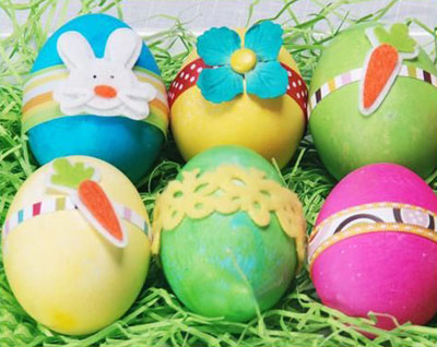 اموزش تزیین تخم مرغ سفره ی هفت سین 92.