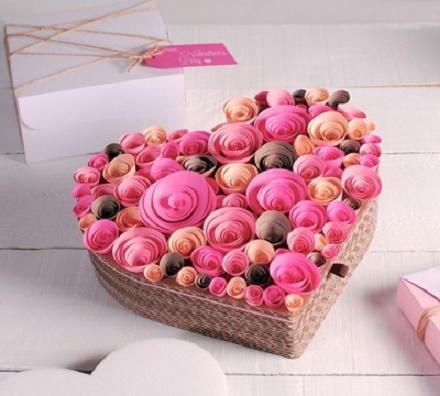 ایده های متفاوت تزئین هدیه ولنتاین,کادو ولنتاین ,تزئین کادو ولنتاین